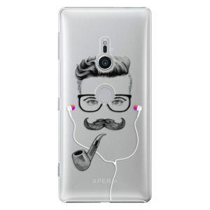 Plastové puzdro iSaprio - Man With Headphones 01 - Sony Xperia XZ2