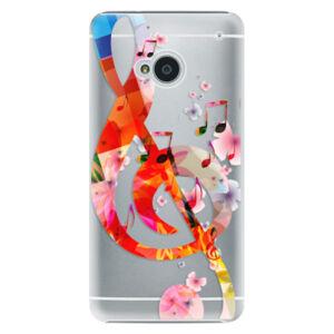 Plastové puzdro iSaprio - Music 01 - HTC One M7