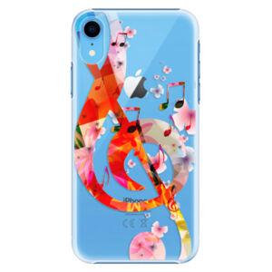 Plastové puzdro iSaprio - Music 01 - iPhone XR