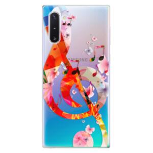 Odolné silikónové puzdro iSaprio - Music 01 - Samsung Galaxy Note 10