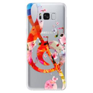 Odolné silikónové puzdro iSaprio - Music 01 - Samsung Galaxy S8
