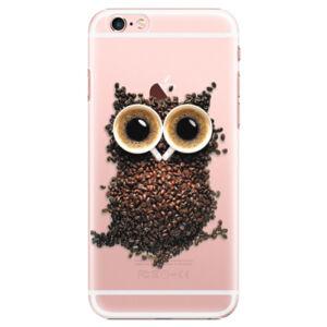 Plastové puzdro iSaprio - Owl And Coffee - iPhone 6 Plus/6S Plus