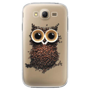 Plastové puzdro iSaprio - Owl And Coffee - Samsung Galaxy Grand Neo Plus