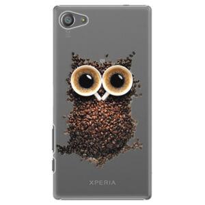 Plastové puzdro iSaprio - Owl And Coffee - Sony Xperia Z5 Compact