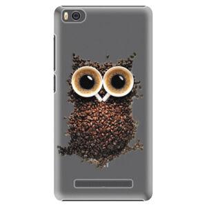 Plastové puzdro iSaprio - Owl And Coffee - Xiaomi Mi4C