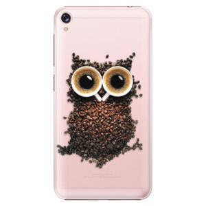 Plastové puzdro iSaprio - Owl And Coffee - Asus ZenFone Live ZB501KL