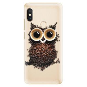 Plastové puzdro iSaprio - Owl And Coffee - Xiaomi Redmi Note 5