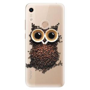 Odolné silikónové puzdro iSaprio - Owl And Coffee - Huawei Honor 8A