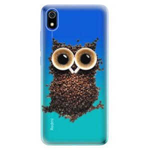Odolné silikónové puzdro iSaprio - Owl And Coffee - Xiaomi Redmi 7A