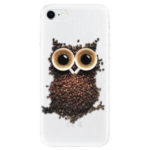Odolné silikónové puzdro iSaprio - Owl And Coffee - iPhone SE 2020