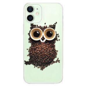 Odolné silikónové puzdro iSaprio - Owl And Coffee - iPhone 12 mini
