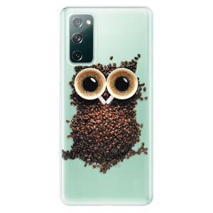 Odolné silikónové puzdro iSaprio - Owl And Coffee - Samsung Galaxy S20 FE