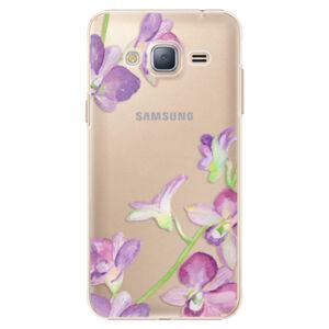 Plastové puzdro iSaprio - Purple Orchid - Samsung Galaxy J3 2016