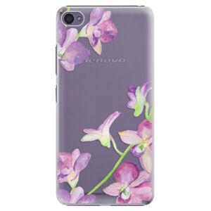 Plastové puzdro iSaprio - Purple Orchid - Lenovo S90