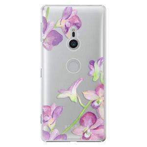 Plastové puzdro iSaprio - Purple Orchid - Sony Xperia XZ2