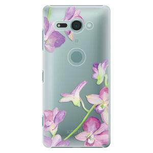 Plastové puzdro iSaprio - Purple Orchid - Sony Xperia XZ2 Compact