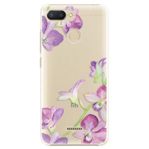 Plastové puzdro iSaprio - Purple Orchid - Xiaomi Redmi 6
