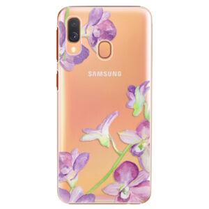 Plastové puzdro iSaprio - Purple Orchid - Samsung Galaxy A40