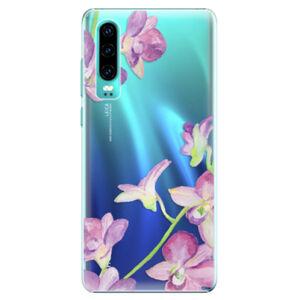 Plastové puzdro iSaprio - Purple Orchid - Huawei P30