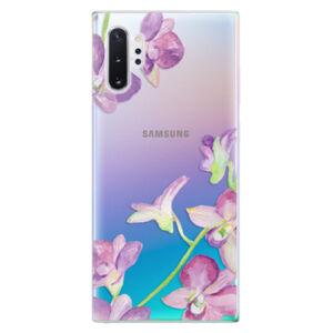 Odolné silikónové puzdro iSaprio - Purple Orchid - Samsung Galaxy Note 10+