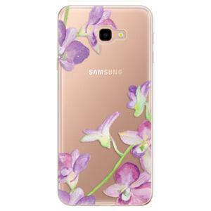 Odolné silikónové puzdro iSaprio - Purple Orchid - Samsung Galaxy J4+