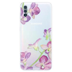 Odolné silikónové puzdro iSaprio - Purple Orchid - Samsung Galaxy A50