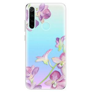 Odolné silikónové puzdro iSaprio - Purple Orchid - Xiaomi Redmi Note 8