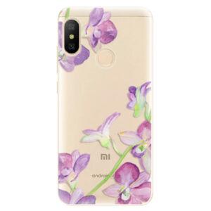 Odolné silikónové puzdro iSaprio - Purple Orchid - Xiaomi Mi A2 Lite