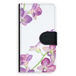 Univerzálne flipové puzdro iSaprio - Purple Orchid - Flip XL