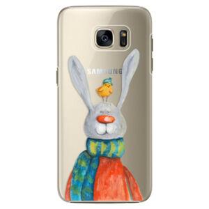Plastové puzdro iSaprio - Rabbit And Bird - Samsung Galaxy S7 Edge
