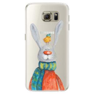 Silikónové puzdro iSaprio - Rabbit And Bird - Samsung Galaxy S6