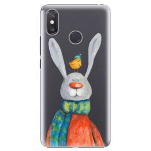 Plastové puzdro iSaprio - Rabbit And Bird - Xiaomi Mi Max 3