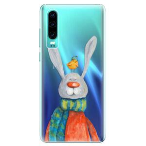 Plastové puzdro iSaprio - Rabbit And Bird - Huawei P30