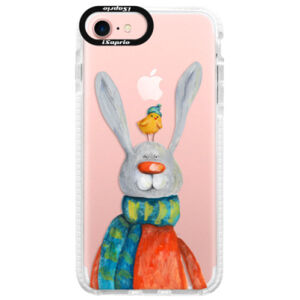 Silikónové púzdro Bumper iSaprio - Rabbit And Bird - iPhone 7