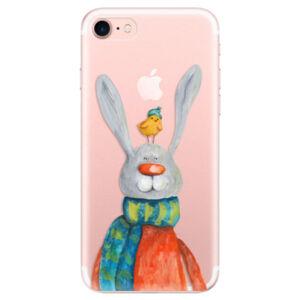 Odolné silikónové puzdro iSaprio - Rabbit And Bird - iPhone 7