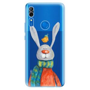 Odolné silikónové puzdro iSaprio - Rabbit And Bird - Huawei P Smart Z