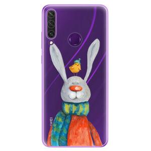 Odolné silikónové puzdro iSaprio - Rabbit And Bird - Huawei Y6p