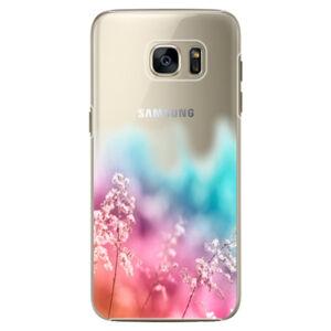 Plastové puzdro iSaprio - Rainbow Grass - Samsung Galaxy S7