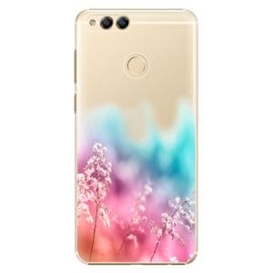 Plastové puzdro iSaprio - Rainbow Grass - Huawei Honor 7X