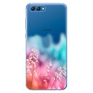 Plastové puzdro iSaprio - Rainbow Grass - Huawei Honor View 10