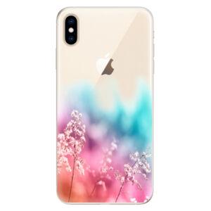 Silikónové puzdro iSaprio - Rainbow Grass - iPhone XS Max