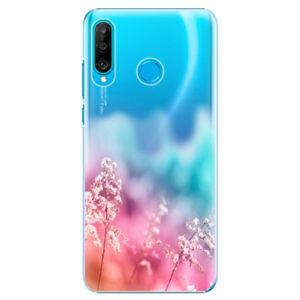 Plastové puzdro iSaprio - Rainbow Grass - Huawei P30 Lite