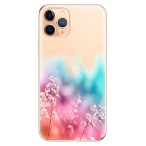 Odolné silikónové puzdro iSaprio - Rainbow Grass - iPhone 11 Pro