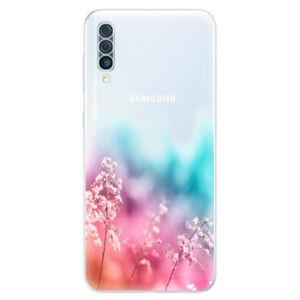 Odolné silikónové puzdro iSaprio - Rainbow Grass - Samsung Galaxy A50