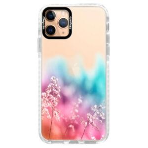 Silikónové puzdro Bumper iSaprio - Rainbow Grass - iPhone 11 Pro