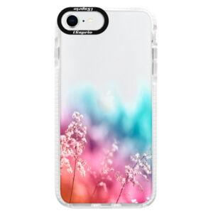 Silikónové puzdro Bumper iSaprio - Rainbow Grass - iPhone SE 2020