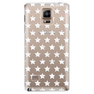 Plastové puzdro iSaprio - Stars Pattern - white - Samsung Galaxy Note 4
