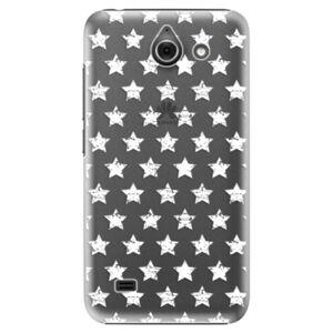 Plastové puzdro iSaprio - Stars Pattern - white - Huawei Ascend Y550