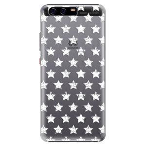 Plastové puzdro iSaprio - Stars Pattern - white - Huawei P10 Plus
