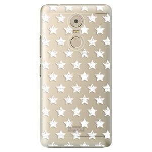 Plastové puzdro iSaprio - Stars Pattern - white - Lenovo K6 Note